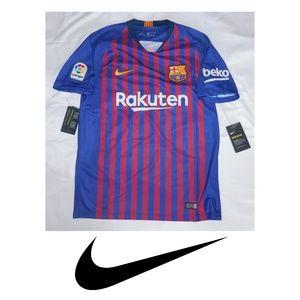 Nike Barcelona Stadium Home Soccer Jersey